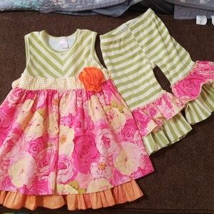 Giggle Moon Matching Sets - Giggle Moon Spring Outfit